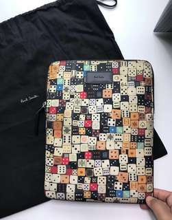 Authentic Paul Smith Dice Print IPad Case