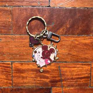 HK Disneyland Minnie Keychain