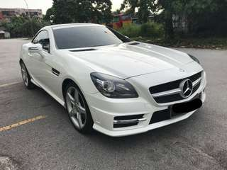 Mercedes SLK250 AMG for rent