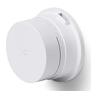 Google wifi wall mounting