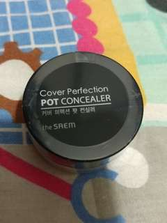 The saem cover perfection pot concealer 遮瑕膏 #02