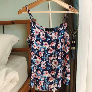 Cotton On Nicole Woven Strappy Cami (Floral)