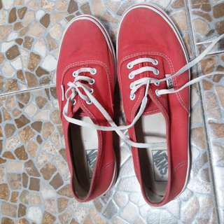 Vans classic Red (Japan market)
