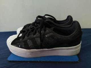 🚚 愛迪達 adidas Superstar Rize 厚底增高 白黑休閒鞋帆布鞋 百搭