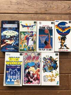 Nintendo Super Famicom Games
