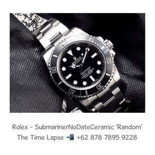 Rolex - Submariner No Date Ceramic 'Random'