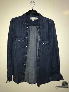 Denim Button Up