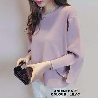HR - 0418 - Outwear Jaket atau Sweater Andini