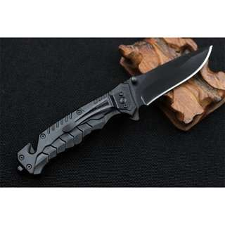 Pisau Lipat Boker CS GO - Pointed Head - Black