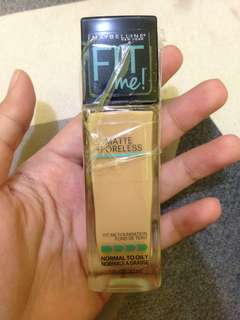 NEW! Maybelline Fit Me Foundation Matte and Poreless 228