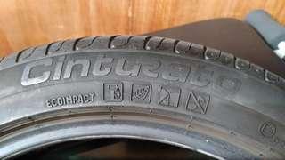 倍耐力p7失壓續跑胎225/45/17