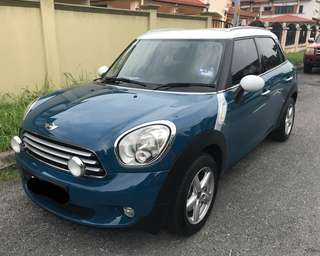 Mini Cooper Countryman for rent