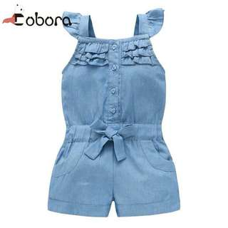 (PO) Denim Jumpsuit