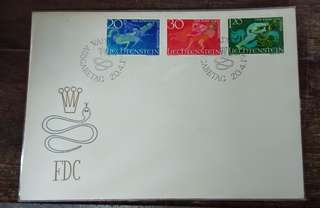 Liechtenstein first day cover 1965