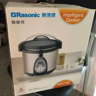 樂信牌 Rasonic RPC-Y6E 智能電飯煲 家居 廚房用品 家電