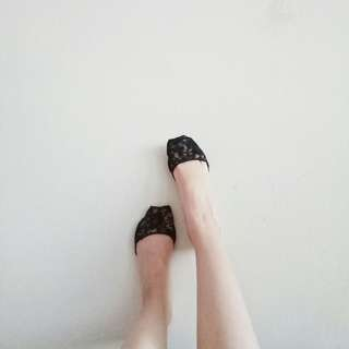 (NEW) Invisible Lace Socks