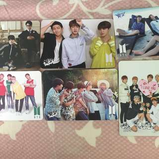 bts yes card yescard