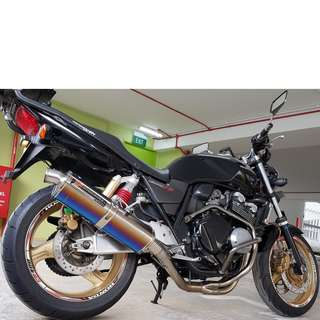 Honda CB400 Super 4 Spec 3 COE Till 12 Sep 2027