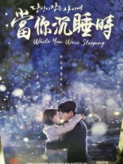 当你沉睡時 while you were sleeping Korean drama Dvd