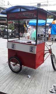 Food cart with bike
