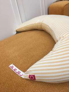 媽媽餵 智慧調溫抗菌萬用枕-月亮枕
