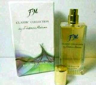 Parfum FM Federico Mahora , parfum ori impor dr polandia,