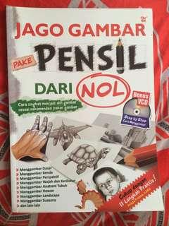 Jago Gambar Pake Pensil