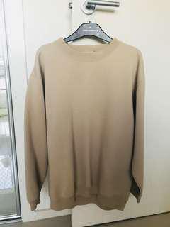 Beige Oversized Sweater