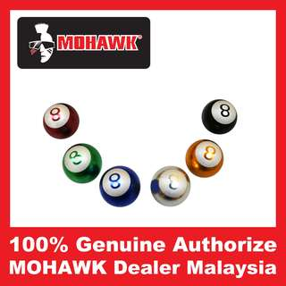MOHAWK Accessories Tyre Billiard Ball Valve Cap