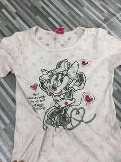 Disney Tshirt Minie Mouse