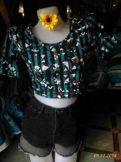 Auth forever 21 crop top