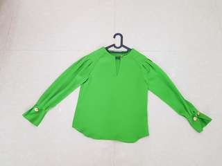 Mark & Spencer Green Blouse