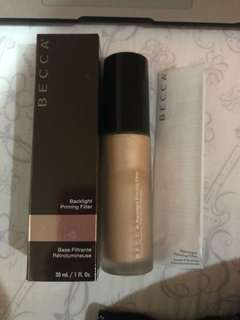 Authentic becca backlight priming filter