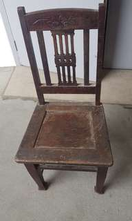 Vintage wooden chairs - 3 chairs