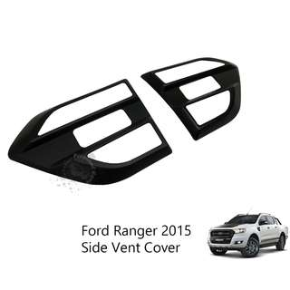 FORD RANGER 2015 (FRS-157) SIDE VENT COVER MATT BLACK (2 PCS)