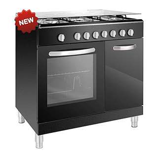 Faber 3 Burners Free Standing Cooker With Electric Oven (FISSO 9663E)