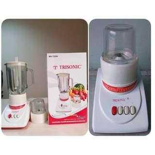 Blender Juicer Trisonic Wadah Kaca Bahan Tebal Dengan 3 Pilihan Kecepatan