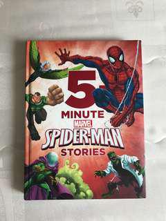 Marvel Spider-Man story book