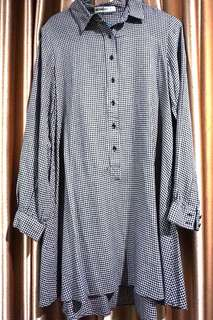 Mango long shirt