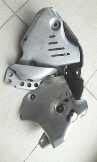 wr400 Devol Frame guards skid plate