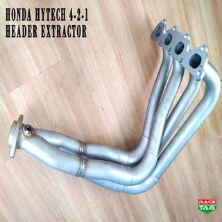 HONDA B SERIES 4-2-1 HYTECH HEADER EXTRACTOR EXHAUST