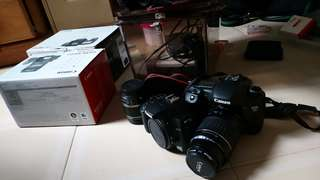 EOS 7D and 1000D, 2 lenses