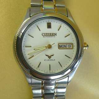 New Citizen 21 -J automatic watch , rare !
