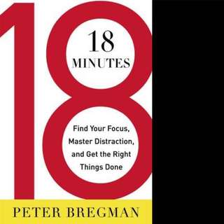 18 minutes by Peter Bregman
