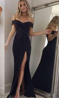party dress (black)