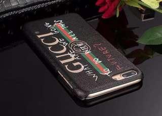 Gucci with design & signature logo case