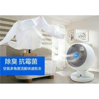 日本IRIS M15空氣對流靜音循環風扇