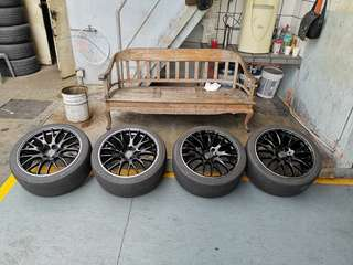 """RAYS Homura 2x9 BMW F10 F30 19"""""""