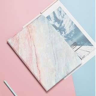 免郵2018新款珊瑚大理石iPad保護套 iPad case 加送玻璃膜