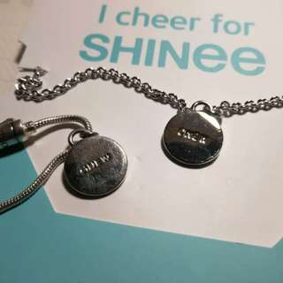 Shinee 10years Anniversary 'I Cheer You' Necklace/Bracelet